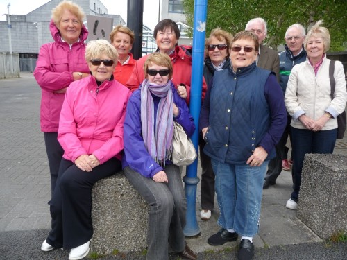 Clare, Limerick & Tipperary Branch of the RMA on very successful Medieval Tour of Limerick City (May 2013)
