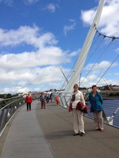 Kildare RMA On Derry's Bridge Of Peace
